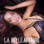 Delicate sexy brunette woman lying in lingerie, relaxing. High class escorts